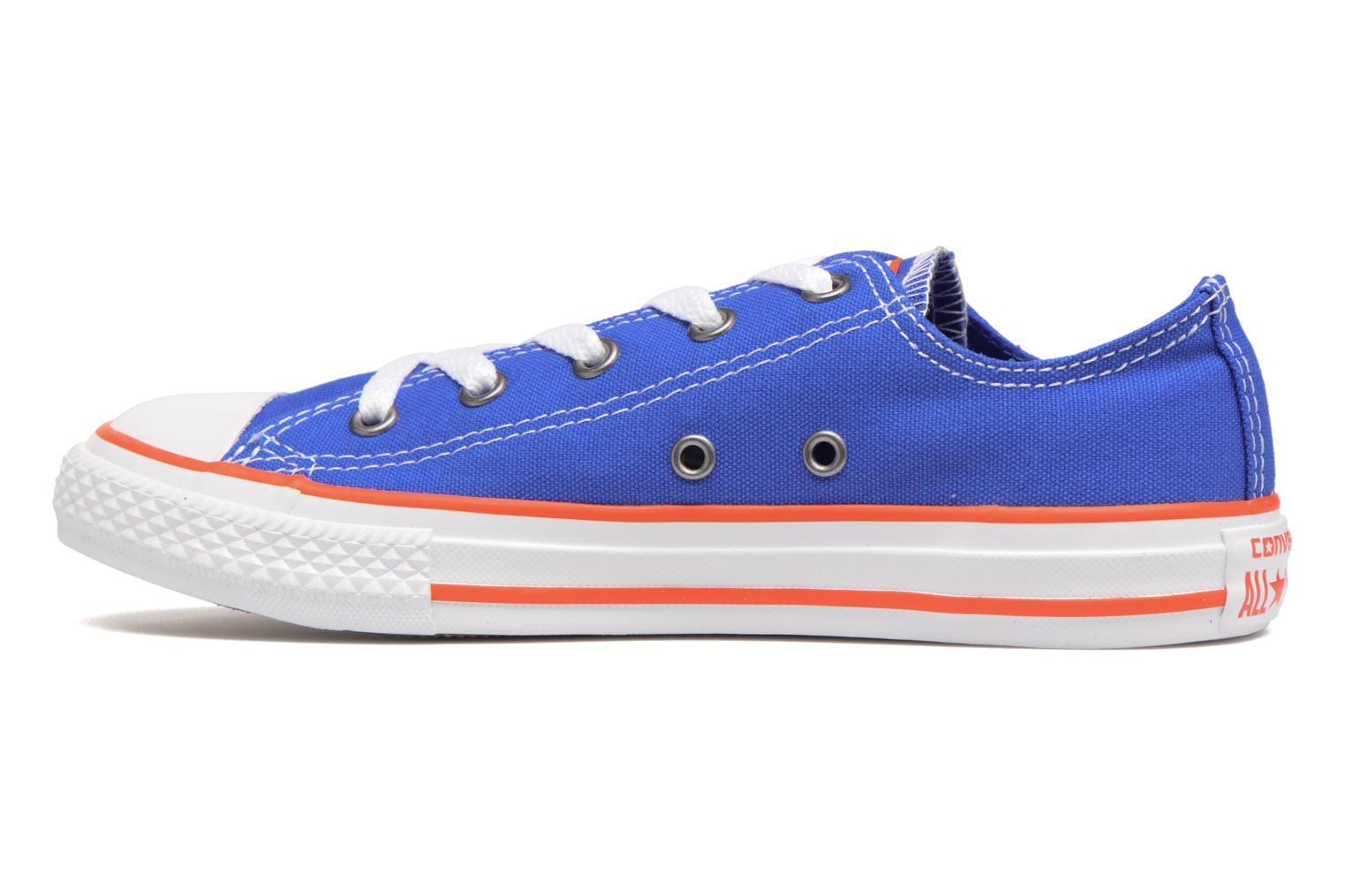 Sneakers Converse Chuck Taylor All Star Ox Seasonal Color Azzurro immagine frontale